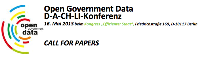 Call for Papers: D-A-CH-LI-Konferenz